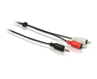 Philips Kabel Jack 3.5mm - 2x RCA, 3m