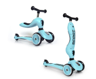 Scoot & Ride Highwaykick 1 Jeździk i hulajnoga 2w1 Blueberry