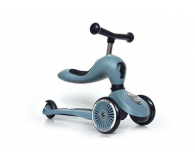 Scoot & Ride Highwaykick 1 Jeździk i hulajnoga 2w1 Steel - 573303 - zdjęcie 3
