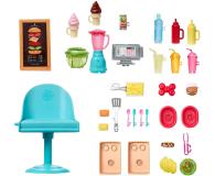 Barbie Foodtruck Zestaw do zabawy - 573549 - zdjęcie 3