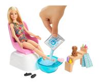 Barbie Mani-pedi Spa Zestaw do zabawy - 573544 - zdjęcie 2