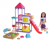 Barbie Skipper Klub opiekunek Plac zabaw Zestaw - 573540 - zdjęcie 1