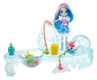 Mattel Enchantimals Snow Valley Zimowe wędkowanie Zestaw - 573554 - zdjęcie 1