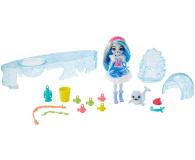 Mattel Enchantimals Snow Valley Zimowe wędkowanie Zestaw - 573554 - zdjęcie 4