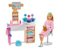 Barbie Salon Spa Maseczka na twarz Zestaw - 573545 - zdjęcie 1