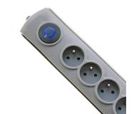 Qoltec Quick Switch - 6 gniazd, 3m - 462010 - zdjęcie 2