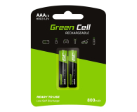 Green Cell 2x AAA HR03 800mAh