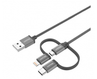 Unitek Kabel USB - Lightning, micro USB, USB-C (MFI) - 579294 - zdjęcie 1