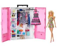 Barbie Szafa na ubranka + Lalka fashionistas - 488466 - zdjęcie 1