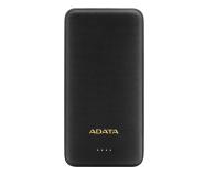 ADATA Power Bank T10000 10000mAh (2A, czarny) - 578531 - zdjęcie 1