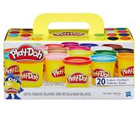 Play-Doh Zestaw 20 tub - 529837 - zdjęcie 1