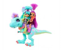 Mattel Cave Club Lalka Rockelle + Tyrasaurus Zestaw - 1008276 - zdjęcie 3