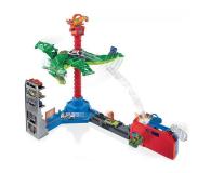Hot Wheels City Atak smoka Zestaw z napędem, dźwiękami i poja - 1008225 - zdjęcie 3