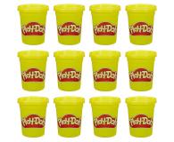 Play-Doh Ciastolina Tuby uzupełniające 12-pak żółty - 1009245 - zdjęcie 1