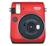 Fujifilm Instax Mini 70 czerwony + wkłady 2x10+ etui - 619875 - zdjęcie 1