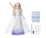 Hasbro Frozen 2 Lalka Elsa z suknią do malowania - 1009297 - zdjęcie 3