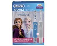 Oral-B Vitality 100 White + D100 Kids Frozen - 580778 - zdjęcie 2