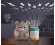 Fisher-Price Miś ze świetlikami Uspokajacz - 1013887 - zdjęcie 5