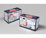 Fujifilm Instax Mini 70 biały+ wkłady 2x10+ etui niebieskie - 619881 - zdjęcie 8