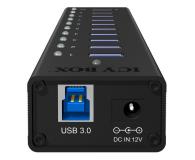 ICY BOX HUB USB 3.0 - 10x USB 3.0 - 622620 - zdjęcie 2