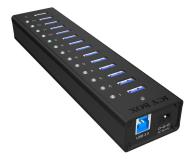 ICY BOX HUB USB 3.0 - 13x USB 3.0 - 622621 - zdjęcie 4