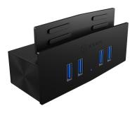 ICY BOX HUB USB 3.0 - 4x USB (mocowanie do biurka) - 622643 - zdjęcie 1