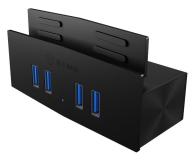 ICY BOX HUB USB 3.0 - 4x USB (mocowanie do biurka) - 622643 - zdjęcie 2