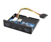 i-tec Panel przedni wewnętrzny USB USB-C / USB 3.0 - 604121 - zdjęcie 1