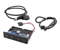 i-tec Panel przedni (USB-C, USB 3.0, audio) - 627822 - zdjęcie 3