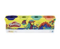 Play-Doh Tuby 4-pak wild - 1014947 - zdjęcie 2