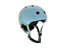 Scoot & Ride Kask Ochronny XXS-S dla dzieci 1-5 lat Steel - 580280 - zdjęcie 1