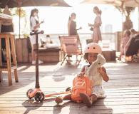 Scoot & Ride Plecak na hulajnogę dla dzieci 1-5 lat Peach - 1017220 - zdjęcie 5