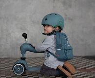 Scoot & Ride Plecak na hulajnogę dla dzieci 1-5 lat Steel - 1017222 - zdjęcie 4