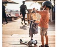 Scoot & Ride Plecak na hulajnogę dla dzieci 1-5 lat Steel - 1017222 - zdjęcie 6