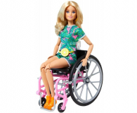 Barbie Fashionistas Lalka na wózku - 1017482 - zdjęcie 2