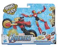 Hasbro Avengers Bend and Flex Iron Man + motocykl - 1015916 - zdjęcie 2