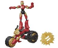 Hasbro Avengers Bend and Flex Iron Man + motocykl - 1015916 - zdjęcie 1