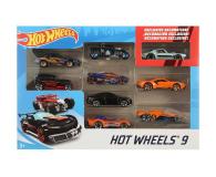 Hot Wheels Zestaw samochodzików 9-cio pak - 1018189 - zdjęcie 1