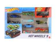 Hot Wheels Zestaw samochodzików 9-cio pak - 1018189 - zdjęcie 2