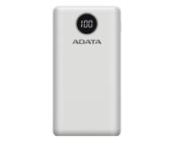 ADATA Power Bank P20000QCD 20000mAh biały - 645543 - zdjęcie 1