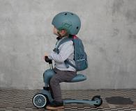 Scoot & Ride Kask Ochronny XXS-S dla dzieci 1-5 lat Steel - 580280 - zdjęcie 5