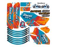 Racerone R1 Go Blue Flames - 1022768 - zdjęcie 6