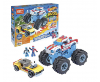 Mega Bloks Mega Construx Hot Wheels Rodger Dodger + Monster Trucks - 1023384 - zdjęcie 1