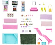 Barbie Dreamhouse Deluxe domek dla lalek - 1023251 - zdjęcie 4