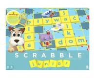 Mattel Scrabble Junior - 158657 - zdjęcie 1