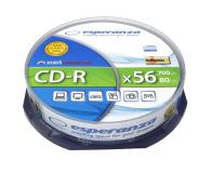Esperanza 700MB/80min. Audio CD 56x CAKE 10szt. - 2162 - zdjęcie 1