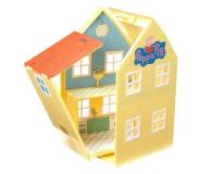 TM Toys Świnka Peppa Domek deluxe z 4 figurkami - 206837 - zdjęcie 4