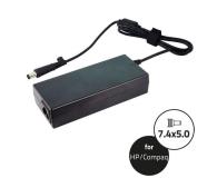 Qoltec Dedykowany do HP 90W 19V 4.74A 7.4*5.0+pin - 269602 - zdjęcie 1