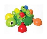 TOMY Toomies Żółwie brzdące  - 242907 - zdjęcie 1