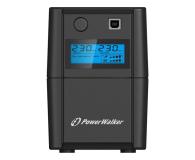 Power Walker VI 850 SE LCD (850VA/480W) 2xPL USB LCD - 208707 - zdjęcie 1